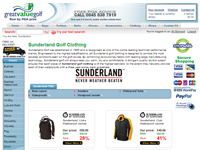 Sunderland Golf Waterproofs